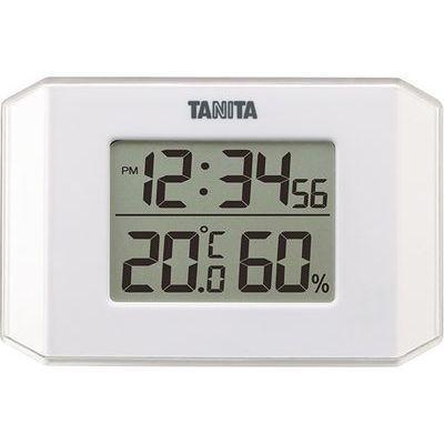 タニタ デジタル温湿度計 (ホワイト) TT-574