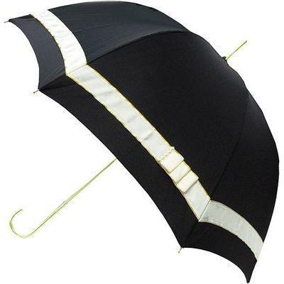ピンクトリック 長傘 雨晴兼用 パールリボン ブルー 8本骨 58cm FF-03895