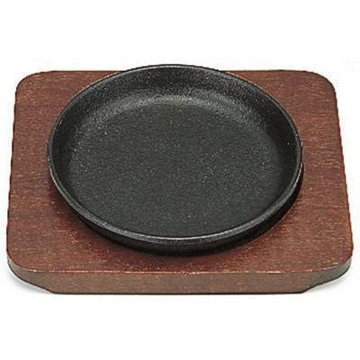 Sミニステーキ皿丸13㎝ 4560378691225