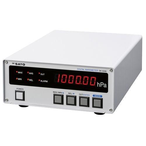 【納期目安:1週間】デジタル気圧計 SK-500B 24-6272-00