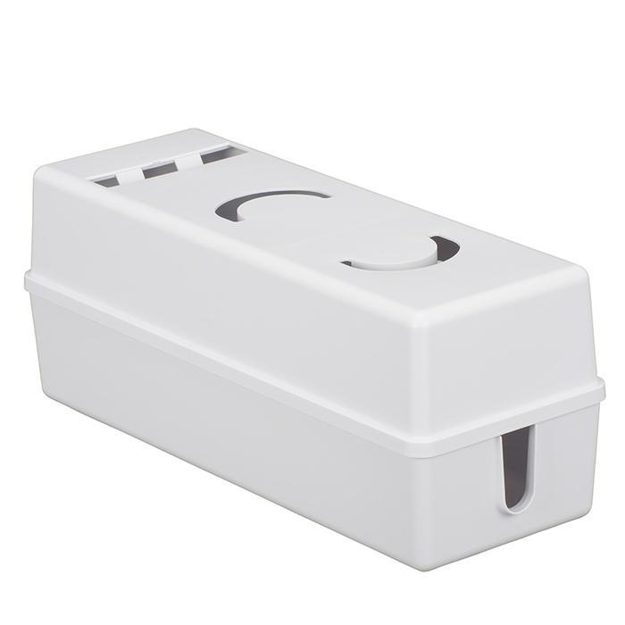 オーム電機 電源タップボックス W HS-A6BXA3-W-W