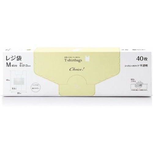 オルディ チョイス レジ袋HD-M 半透明 Mサイズ 40枚入 CH-THM-40 (レジ袋) 64・・・