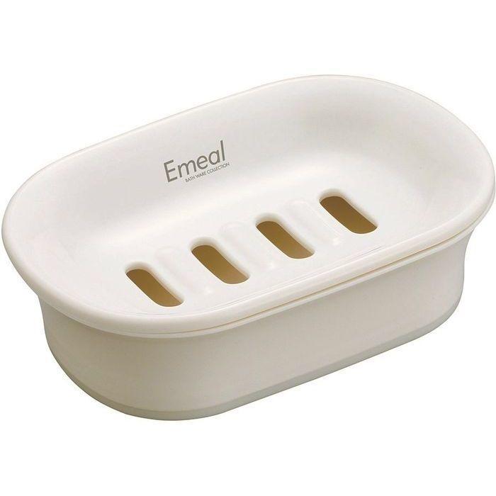 アスベル Emeal(エミール) 石けん皿 ホワイト 5636 石鹸 トレー 60個セット【・・・
