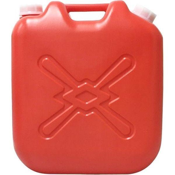 北陸土井工業 灯油缶 赤 18L ポリタンク 6個セット【沖縄・離島配達不可】 49・・・
