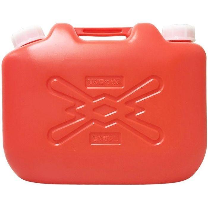 北陸土井工業 灯油缶 赤 10L ポリタンク 10個セット【沖縄・離島配達不可】 4・・・
