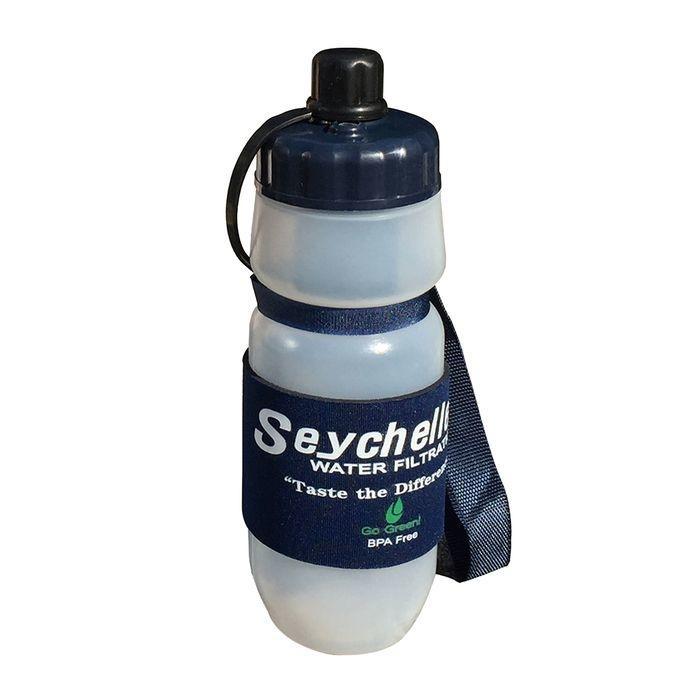 【納期目安:1週間】セイシェル 携帯浄水ボトル PT M-9638
