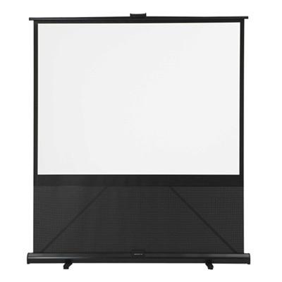 キクチ 床置き立ち上げモバイルスクリーン 100インチ(4:3)サイズ GRANDVIEW G・・・