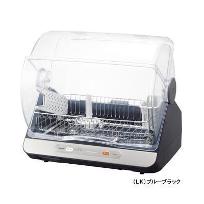 東芝 コンパクトに置けて、ハイパワー清潔乾燥!食器乾燥器(6人用)(ブルーブラ・・・
