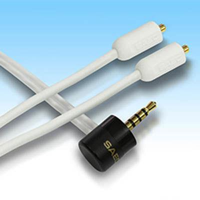 SAEC 0.8m MMCXイヤホン交換ケーブル SHC-B200FS/0.8