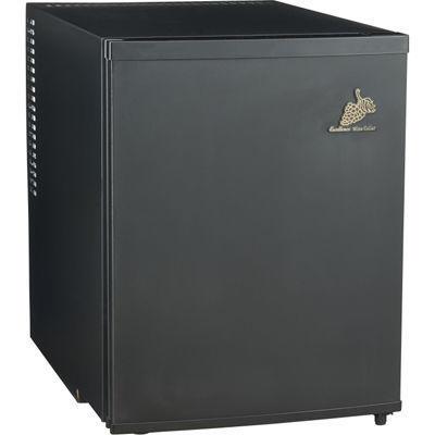三ツ星貿易 電子式ワインセラー(48L/12本収納) MLY-48CE ブラック