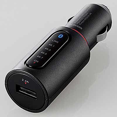 エレコム Bluetooth(R)トランスミッター LAT-FMBT01BK ブラッ・・・