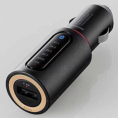 エレコム Bluetooth(R)トランスミッター LAT-FMBTB01BK ブラッ・・・