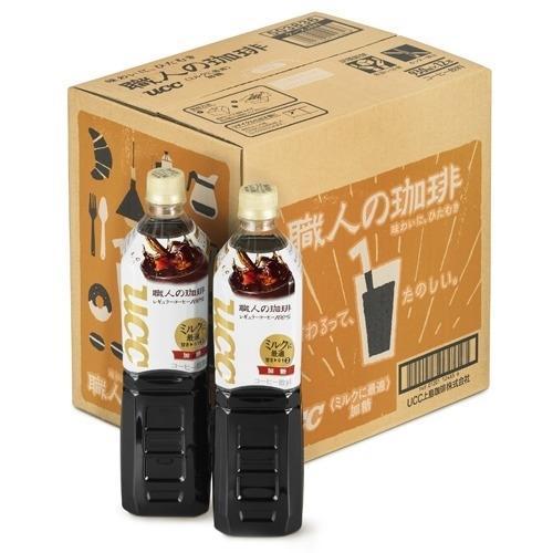 ユーシーシー上島珈琲 【ケース販売】UCC 職人の珈琲 ミルクに最適 930ml×12・・・