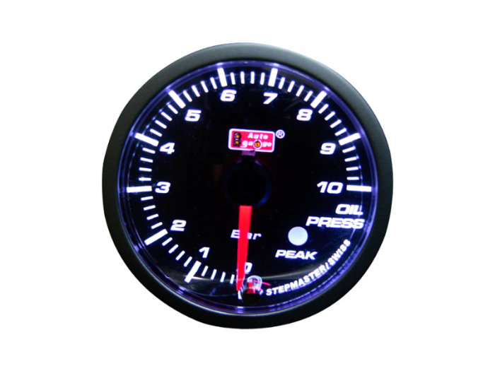 オートゲージ 油圧計 自動車用メーター ag-op52pk [PKタイプ φ52mm・・・