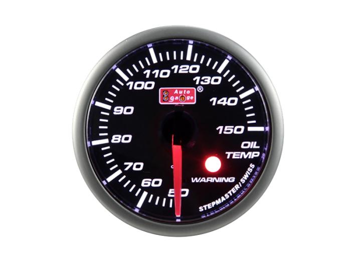 オートゲージ 油温計 自動車用メーター ag-ot52sm[SMタイプ φ52mm・・・