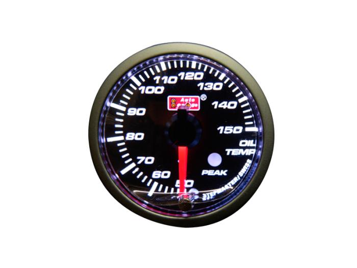 オートゲージ 油温計 自動車用メーター ag-ot52pkv [PKタイプ φ52mm・・・