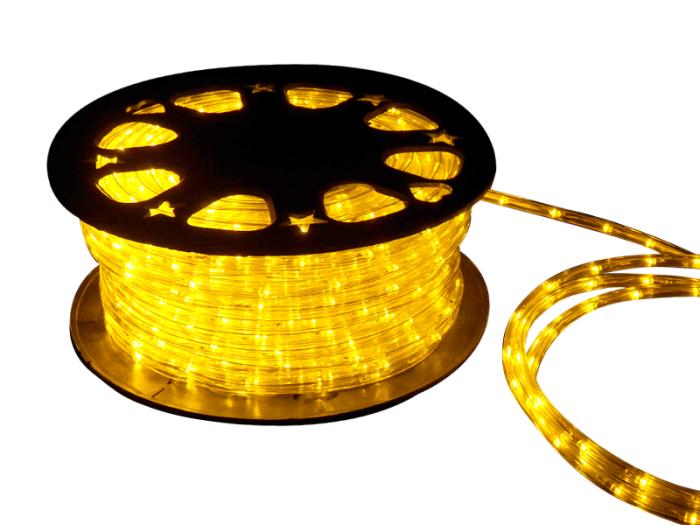 1250球 50m    LEDロープライト クリスマスイルミネーション/チューブライト黄 商品画像1:DIYストア 工具課長