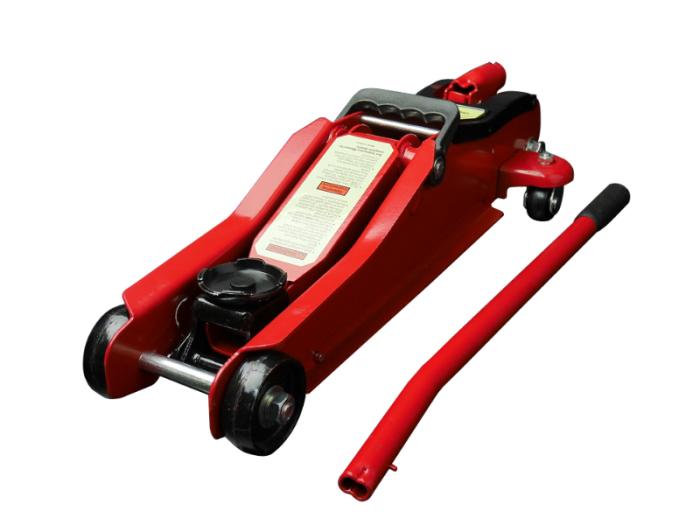 ガレージジャッキ 2t 赤 / フロアジャッキ 油圧式 耐荷重2000k・・・