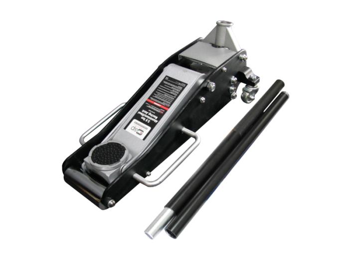 ハイブリッド アルミジャッキ 2.5t 黒 / アルミ+スチール製 油圧式 耐荷重25・・・